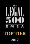 Top Tier Legal 500 2017