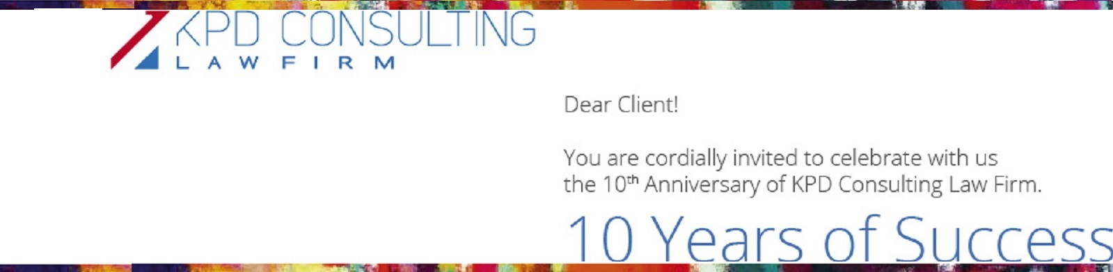 MORE THAN 10 YEARS of EFFICIENT SUPPORT for our CLIENTS